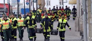Almanya'nın Augsburg şehrinde korkutan bomba alarmı