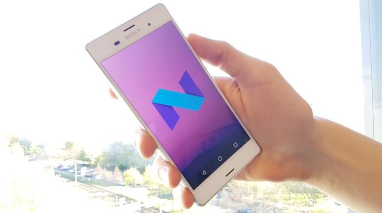 Android 7.0 güncellemesi Sony için geldi