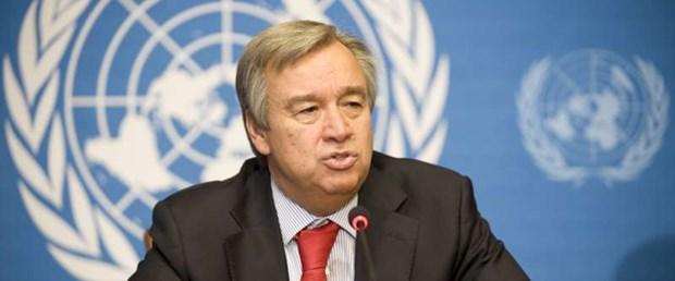 Antonio Guterres ziyaret için bugün Türkiye'de olacak