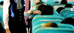 Havayolu işletmesinden yabancı uyruklu kabin memuru kararı
