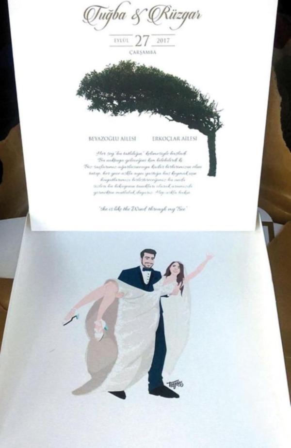 Rüzgar Erkoçlar'ın Düğün Davetiyesi