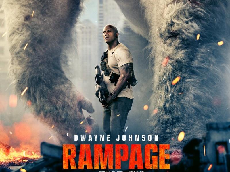 Rampage Filminden Poster Paylaşıldı!
