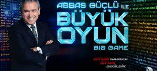 Abbas Güçlü İle Büyük Oyun Yarışması Yakında Başlıyor!