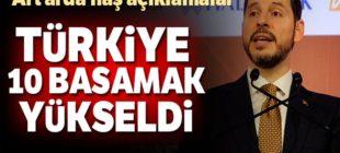 Albayrak'tan Dünya Bankası endeksi açıklaması; Türkiye 10 basamak yükseldi