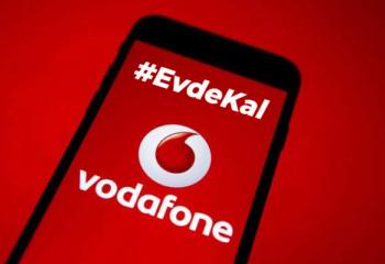 Vodafone, Mobil cihazlarda operatör ismini #EvdeKal olarak değiştirdi